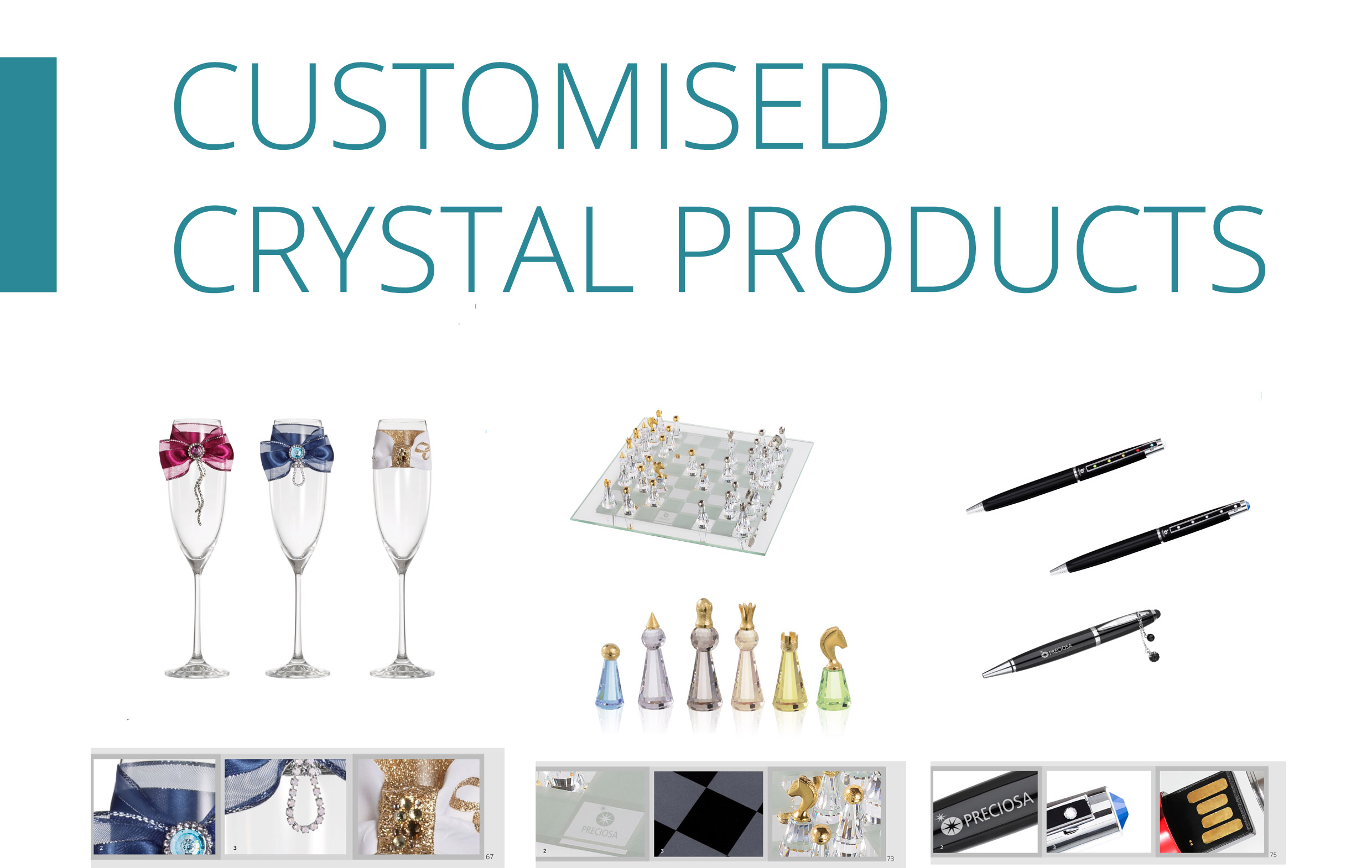 Customized Crystal Products-catalogue-front