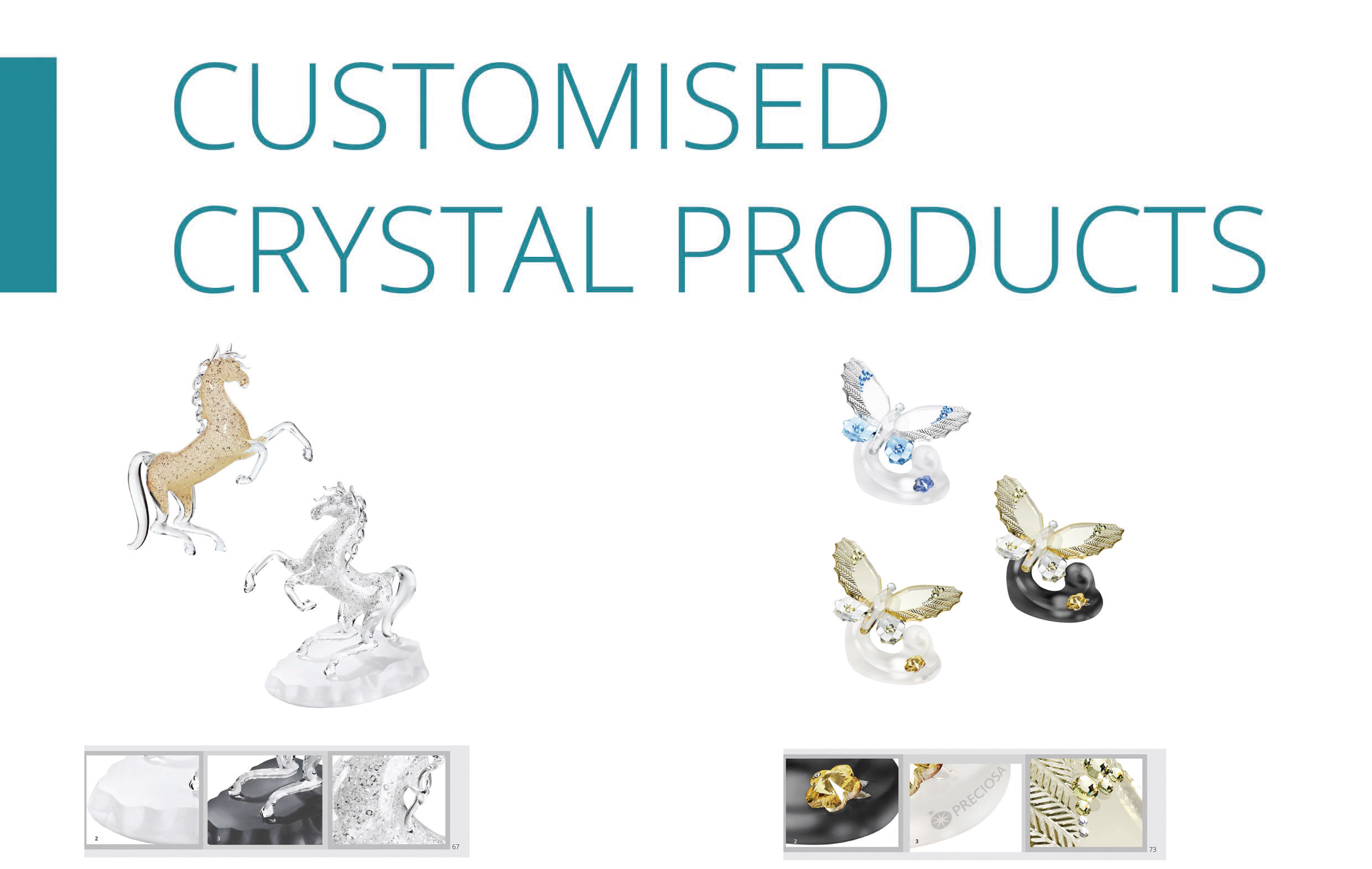 Customized Crystal Products-front