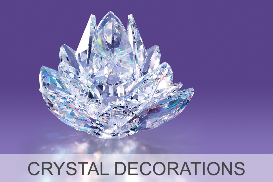 Crystal Decorations