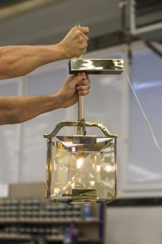 Assembly And Disassembly Of Crystal Chandelier
